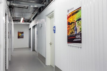 Interior Storage at StorQuest Self Storage in NY