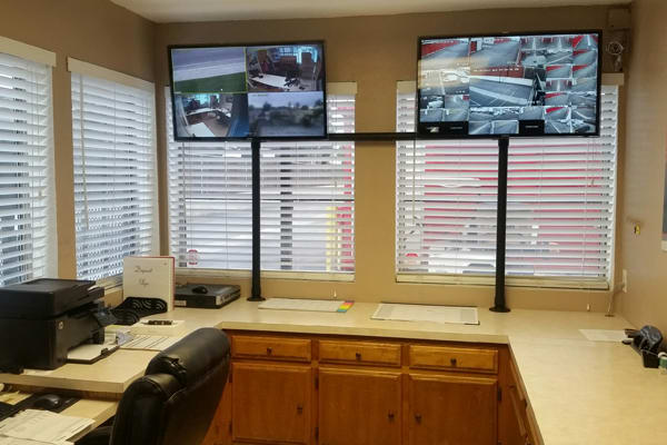 Inside office at StorQuest Self Storage