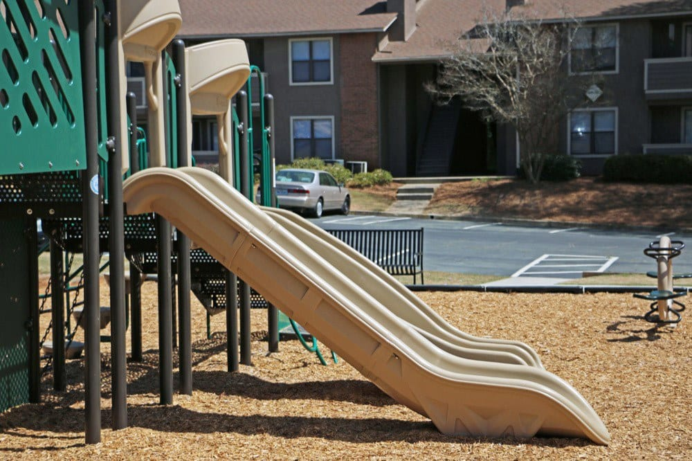 Children's play area at Jasmine Woodlands in Smyrna, Georgia
