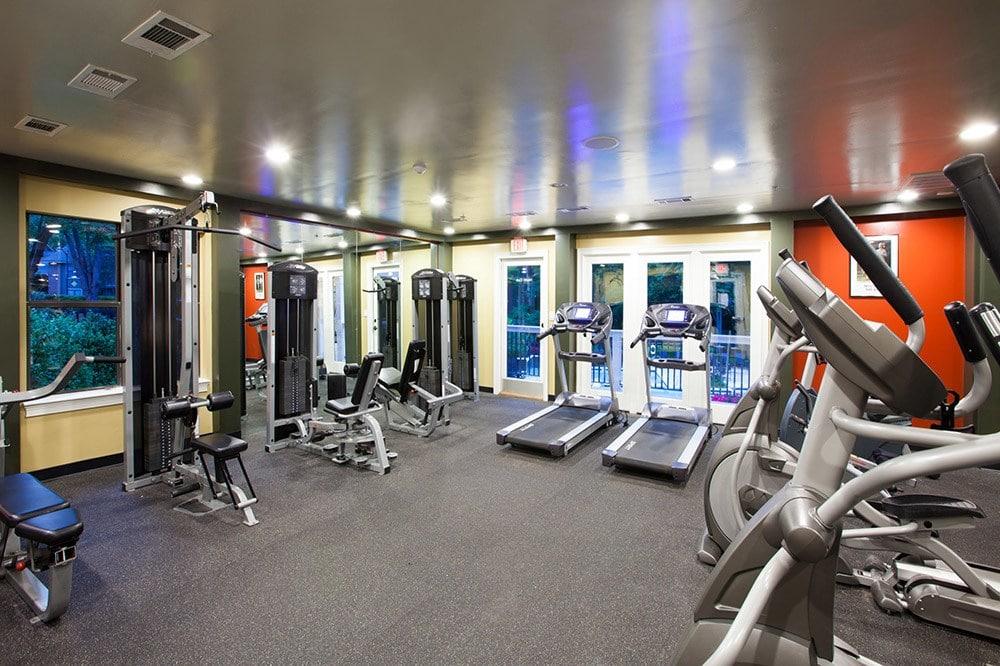 Fitness Center at Jasmine Woodlands in Smyrna, Georgia