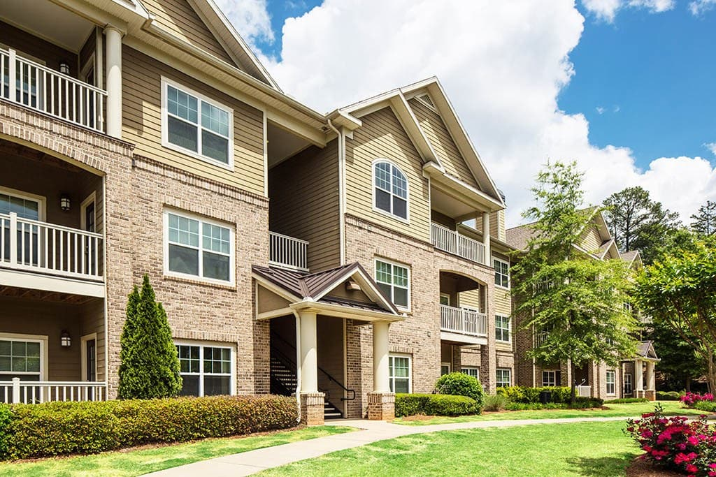 A view of the apartments in Newnan GA