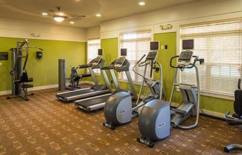 Fitness center at The Preserve at Greison Trail