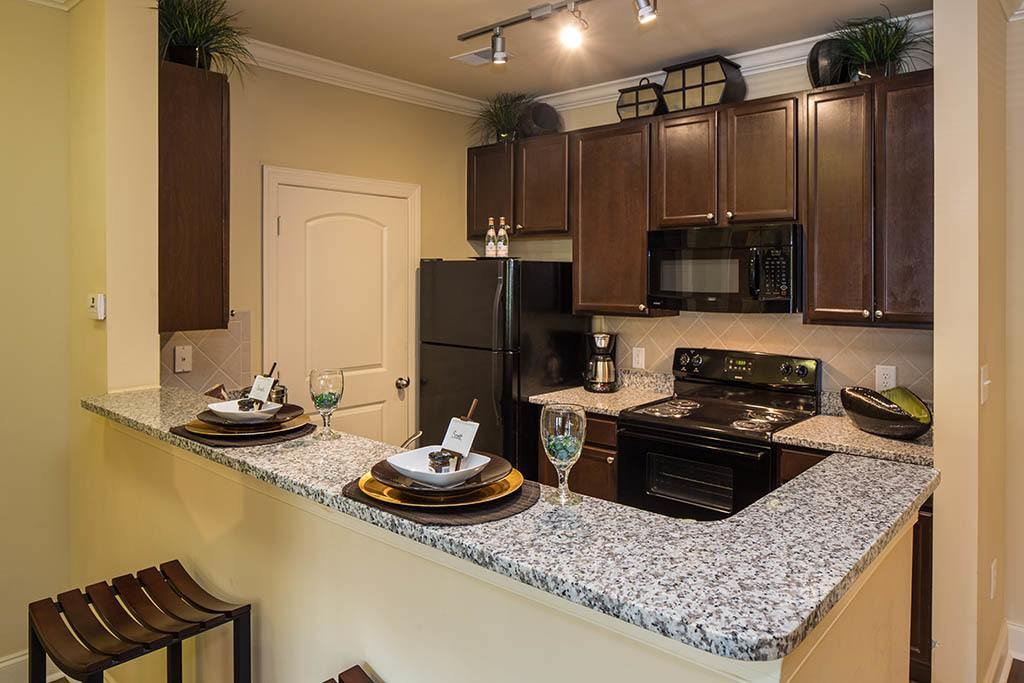 Luxury kitchens at The Preserve at Greison Trail