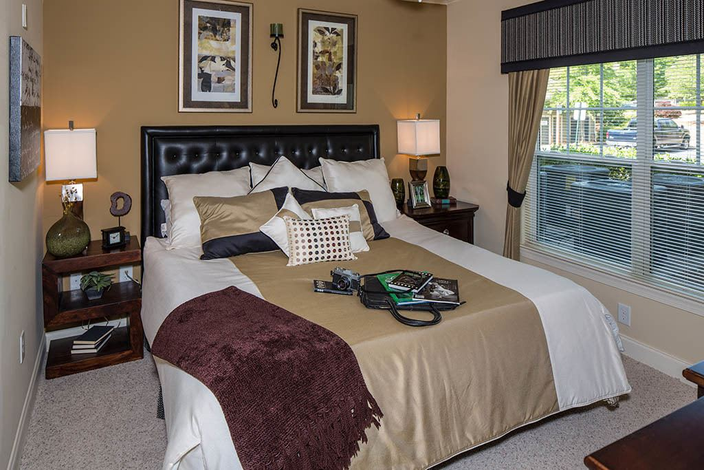 Various bedroom options at The Preserve at Greison Trail