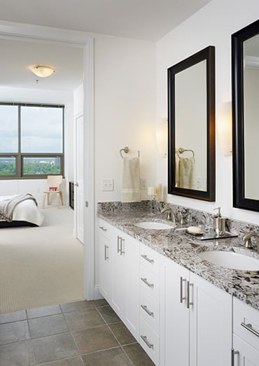 Spacious layouts and open floor plans at luxury apartments in Atlanta, Georgia