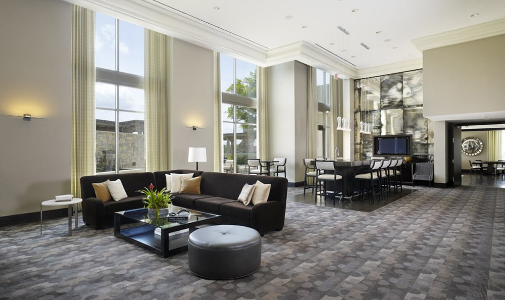 Clubroom At Luxury Apartments In Atlanta Georgia