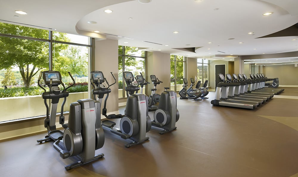 Fitness Center At Luxury Apartments In Atlanta Georgia