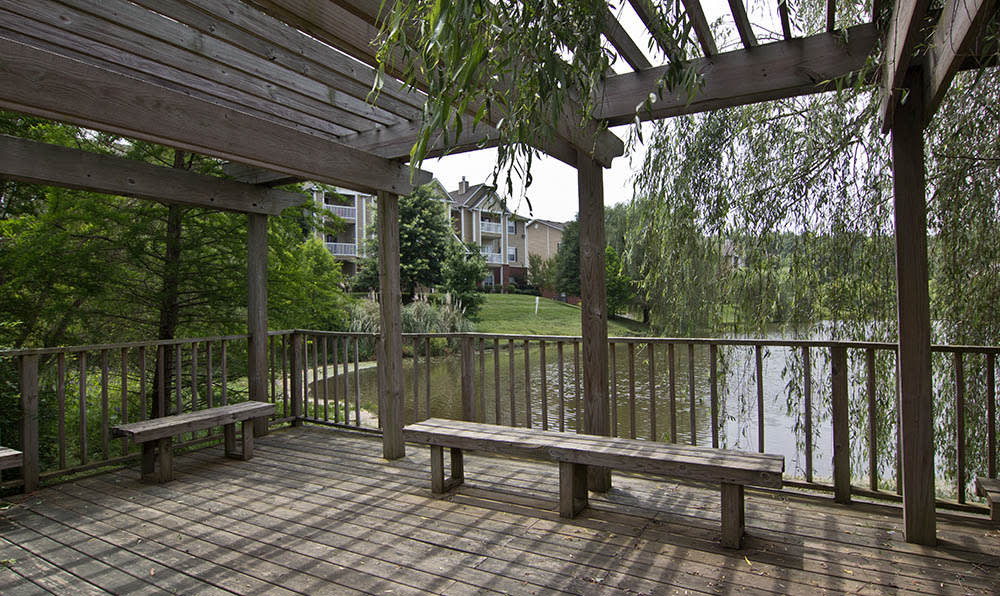 Deck On The Water At Heritage Lake