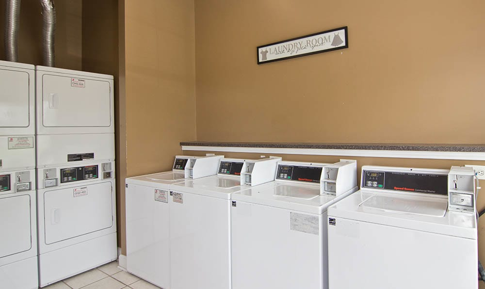 Laundry Room At Heritage Lake