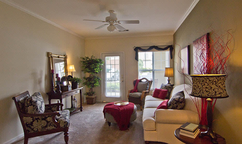 Living Room At Heritage Lake