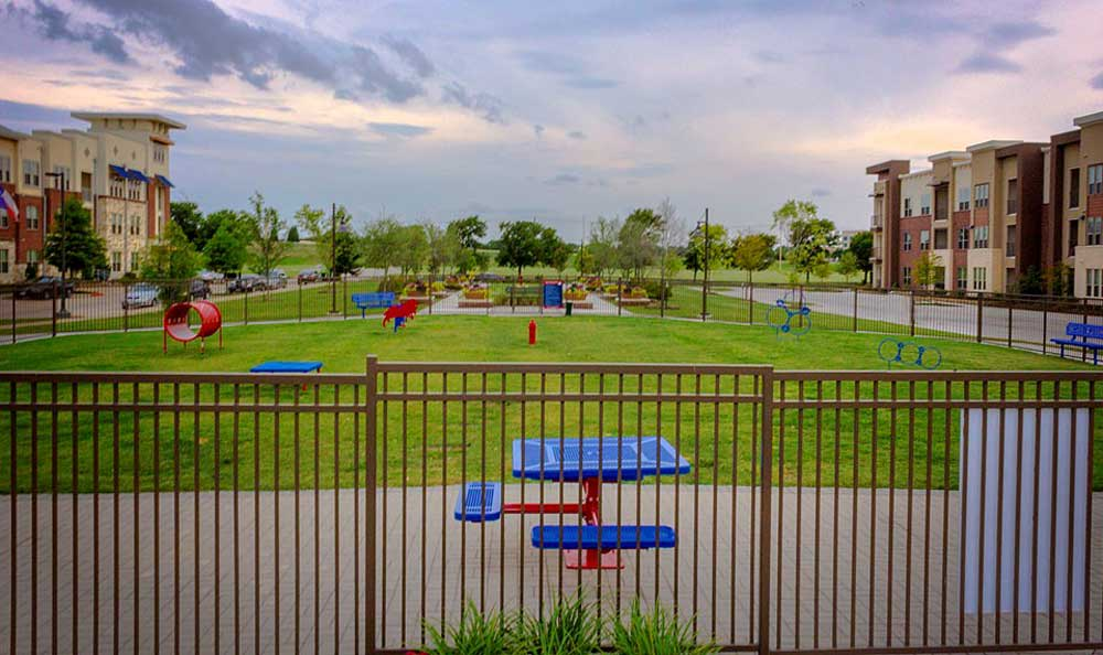 Dog park at Park at Gateway
