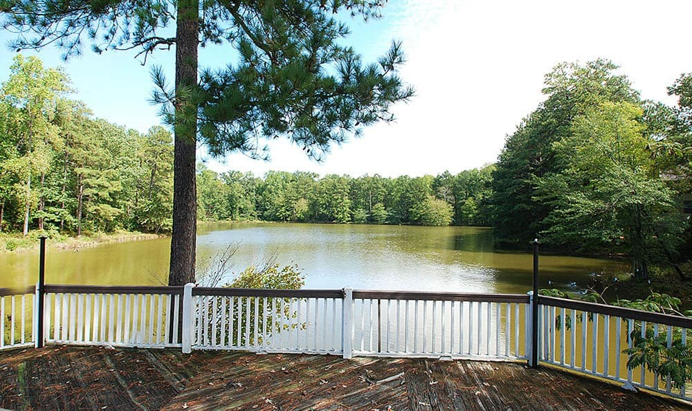 Lake Side View From Reserve at Peachtree Corners