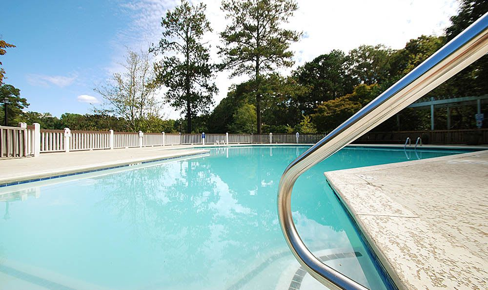 Low Angle Photo Of Our Pool At Reserve at Peachtree Corners