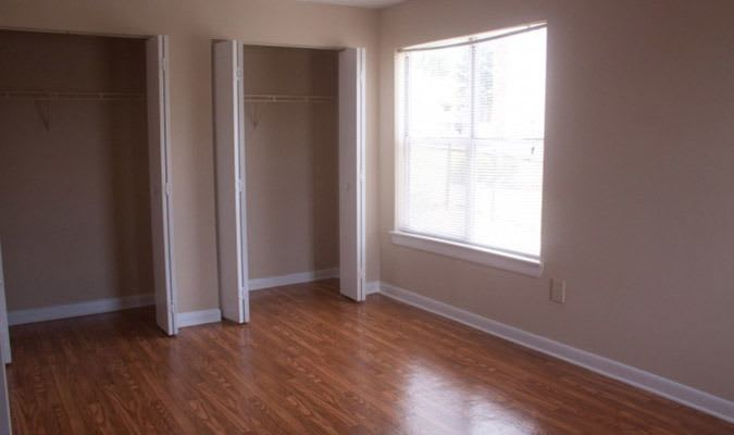 Our Tucker apartments have hardwood floors