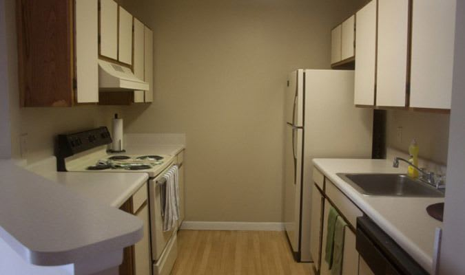 Tucker apartments with modern kitchens