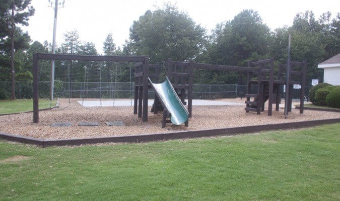 The playground at our Tucker apartments