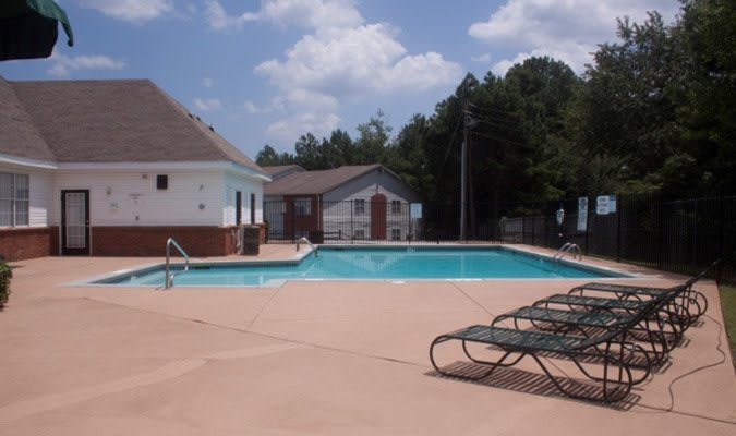 Tucker apartments featuring a swimming pool