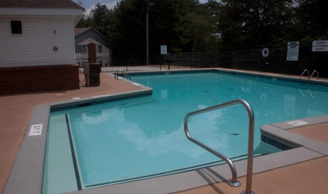 A view of the swimming pool at our Tucker GA apartments