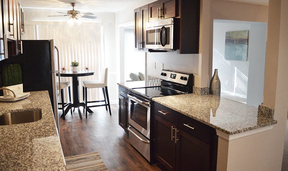 Smyrna apartments with modern kitchens