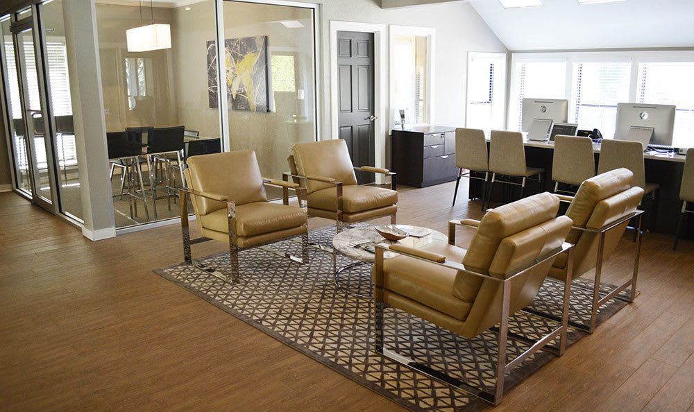 Inside our Smyrna apartments leasing office