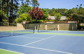 Tennis courts at our Smyrna apartments