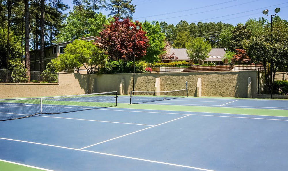 Residents of our Smyrna apartments can enjoy a game of tennis
