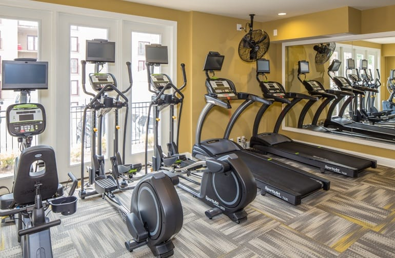 Fitness Center at Ardmore Apartments