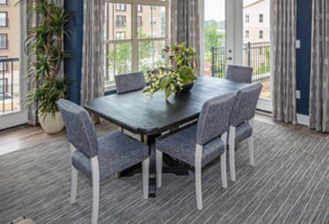 Dinning room at Ardmore Apartments