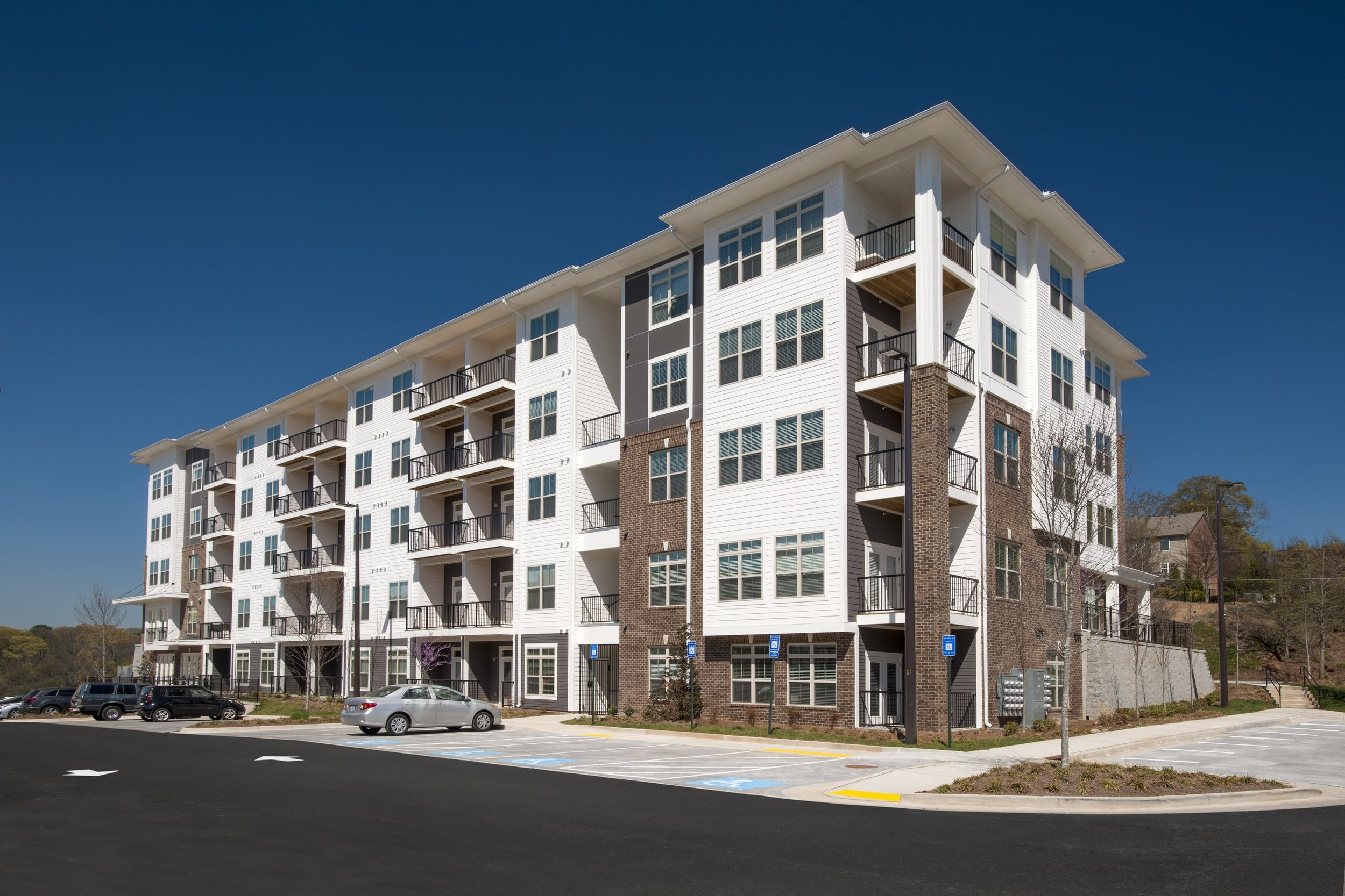 Exterior view of Ardmore Apartments