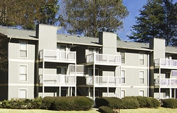 Our Clarkston luxury apartments featuring balconies