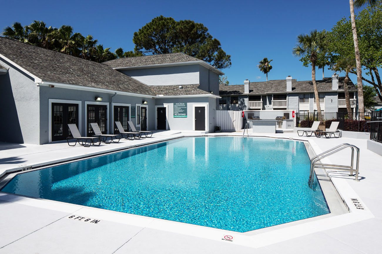Outdoor pool in Ponte Vedra Beach, Florida