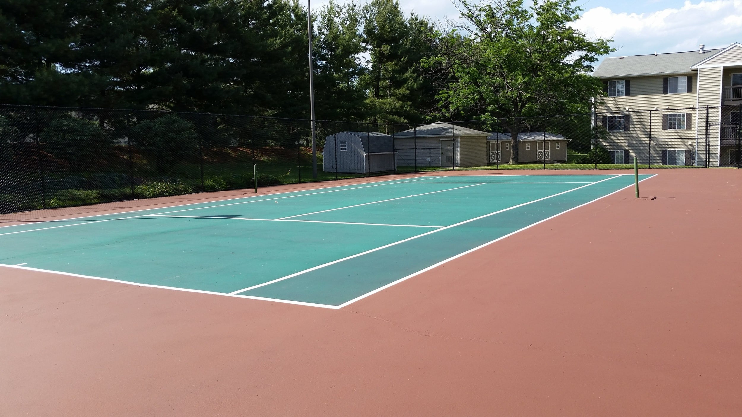 Tennis courts at our Winchester VA apartments
