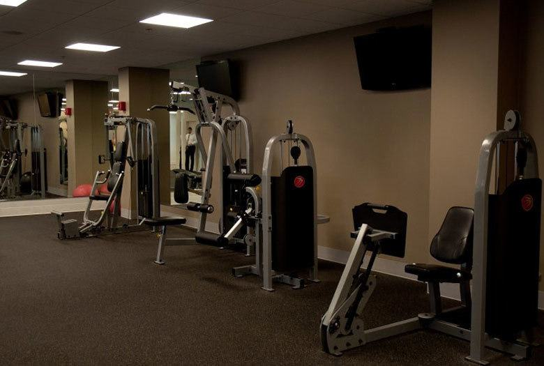 The fitness center at our Atlanta apartments