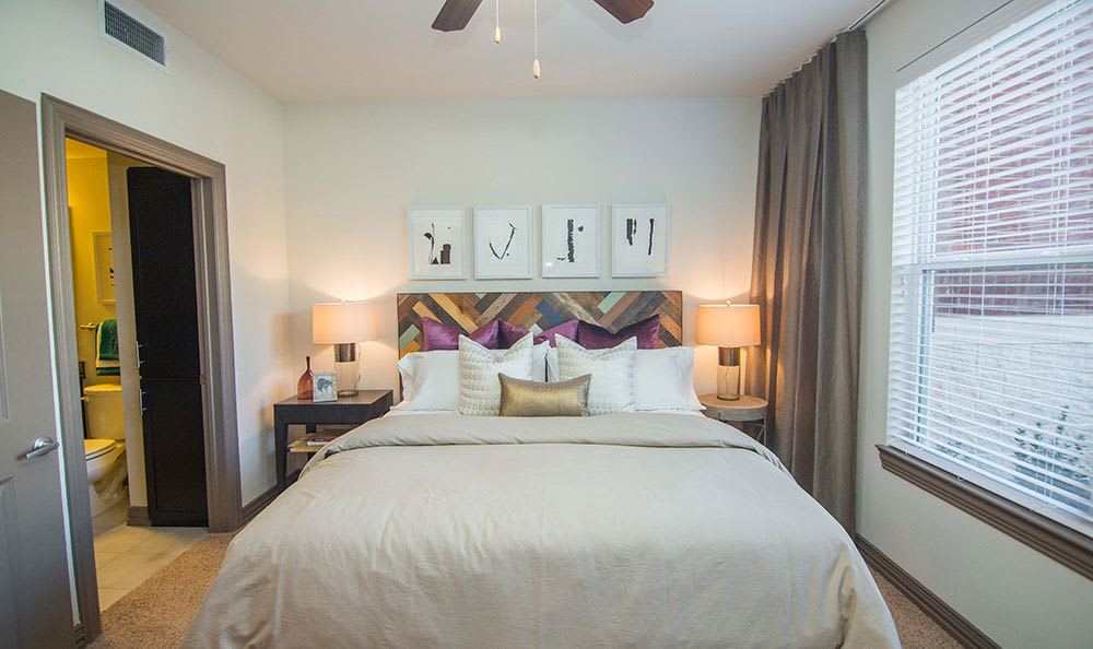 Plano apartments with spacious bedrooms