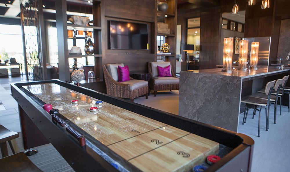 Plano, Texas, apartments offering shuffleboard