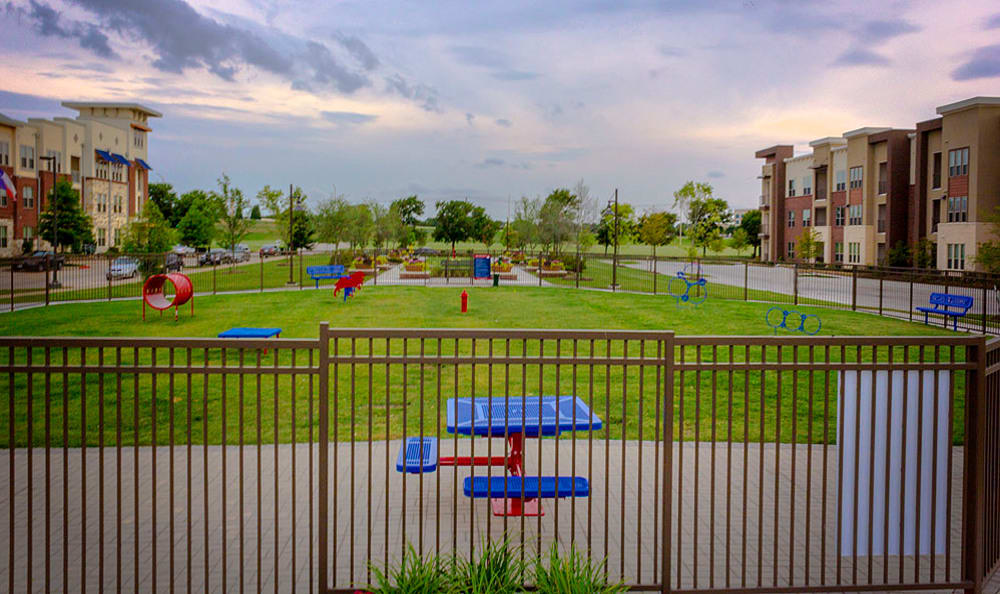 Dog park at Gateway Crossing