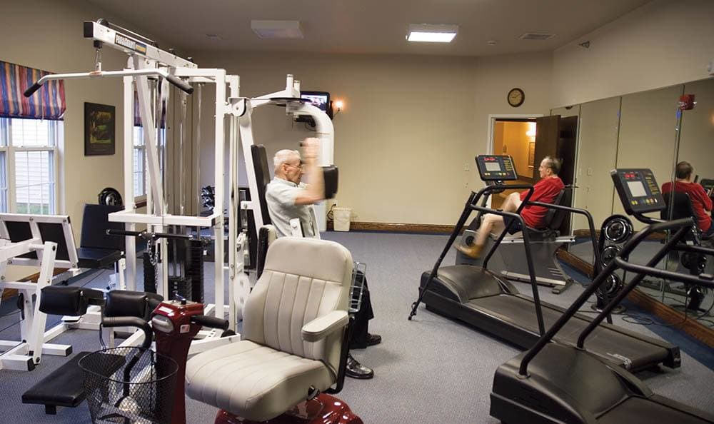 Gym at Randall Residence of Decatur