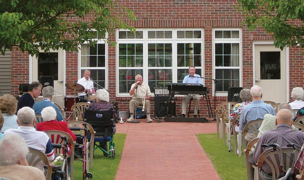 Music at Randall Residence of Decatur