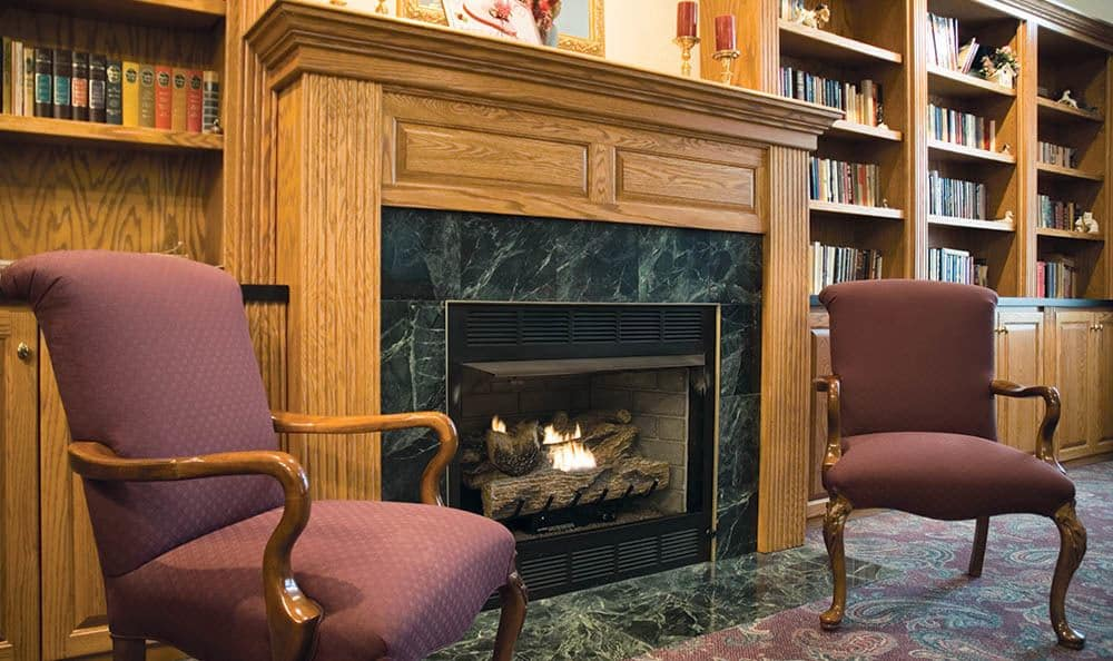 Meadows Fireplace at Randall Residence of Decatur