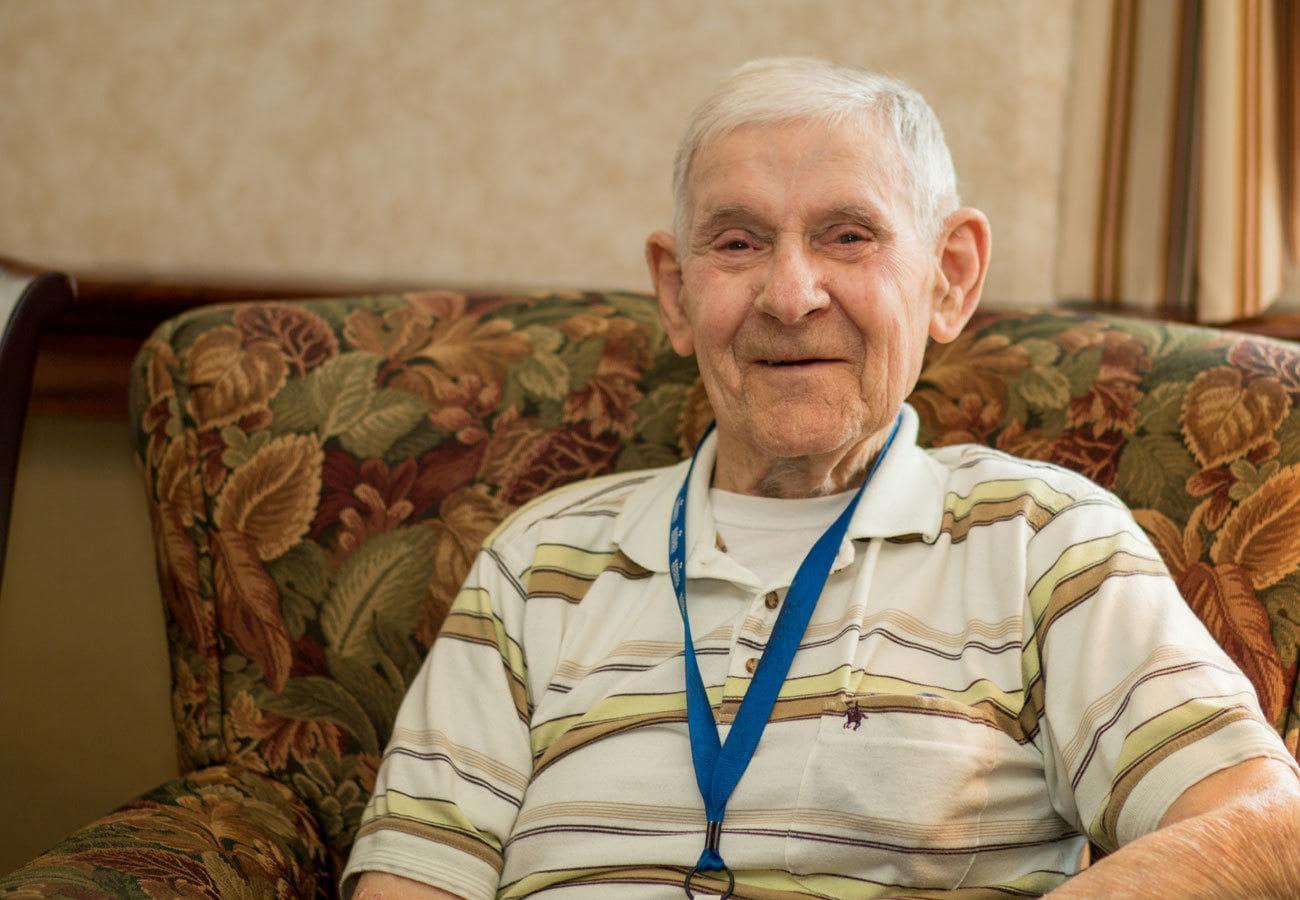 Communal feel at senior living in Tipp City.