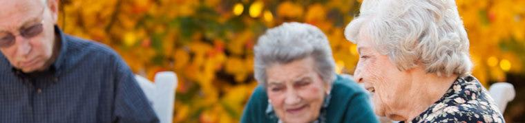 Community resident enjoying the amenities offered by assisted living in Wood Dale, IL.