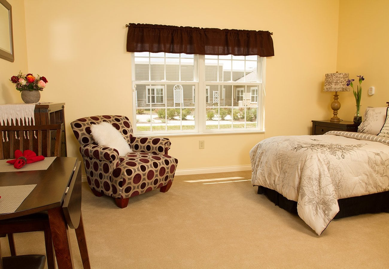 Spacious floor plans and suites at our Tipp City, Ohio senior living community.
