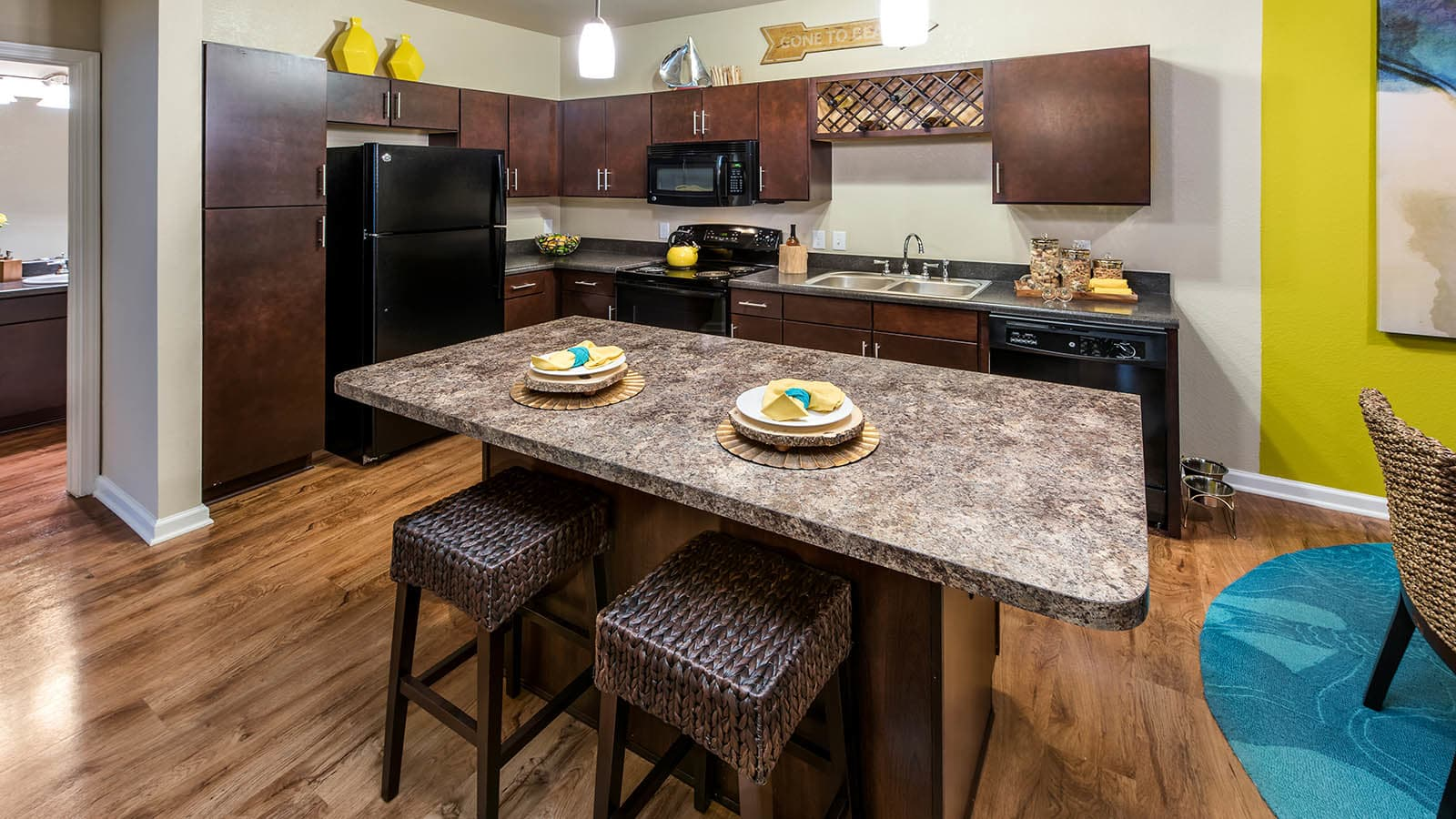 Gourmet Kitchen at Longitude 81 in Estero, FL