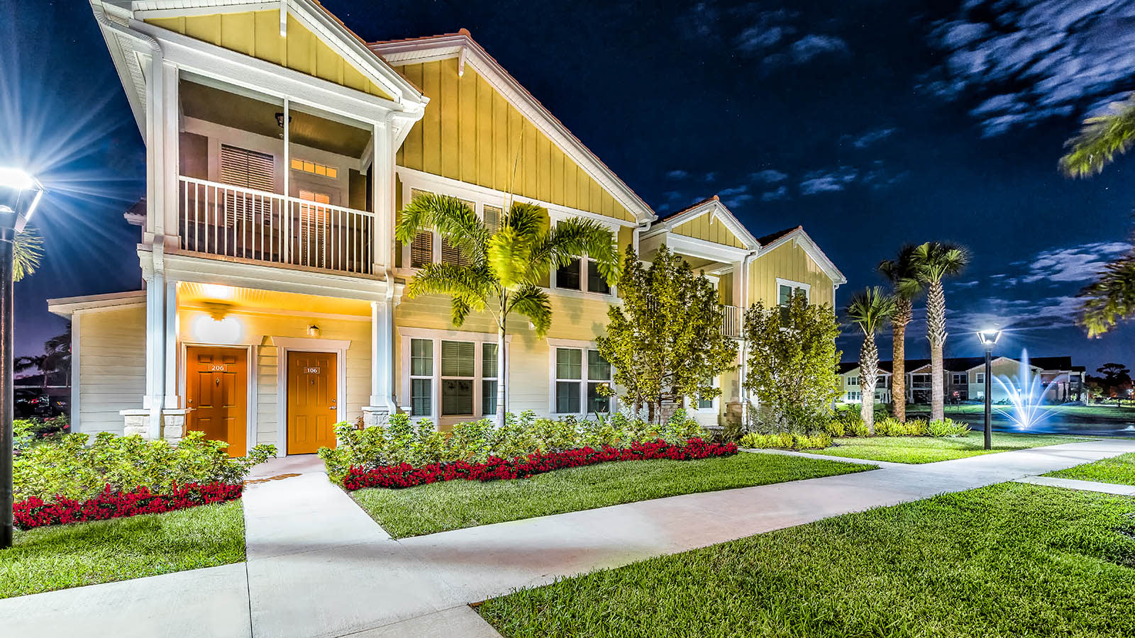 Well Lit Property at Longitude 81 in Estero, FL