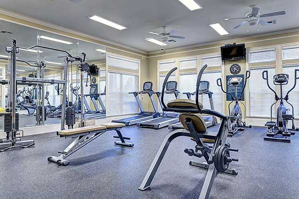 Maintain that  beach body in the full gym at The Haven at West Melbourne