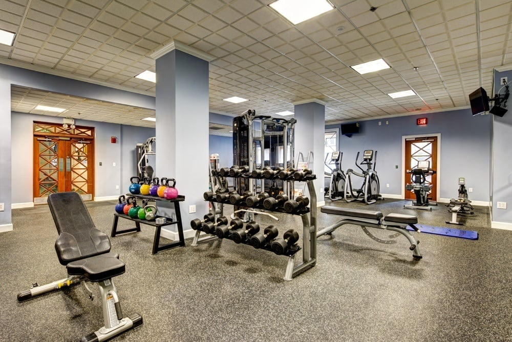 Break a sweat and stay fit at The Eva's elite gym.