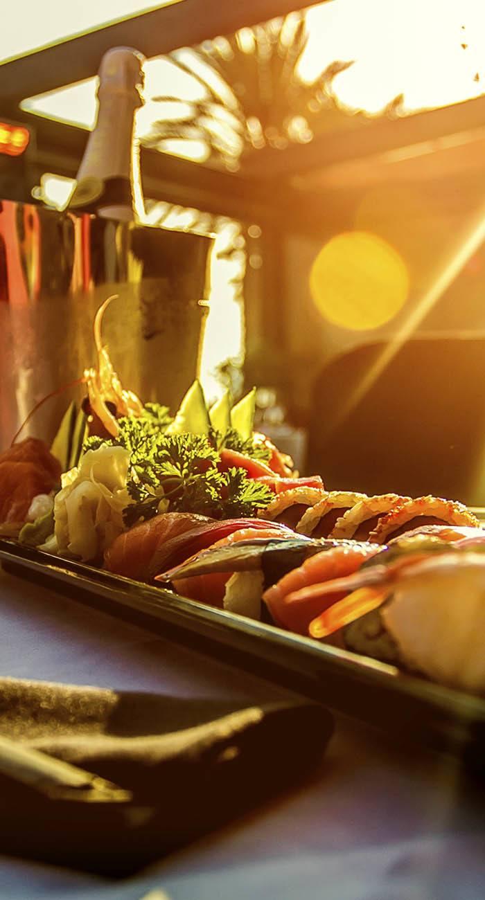 Enjoy plenty of fine dining options near The Edge in Richmond