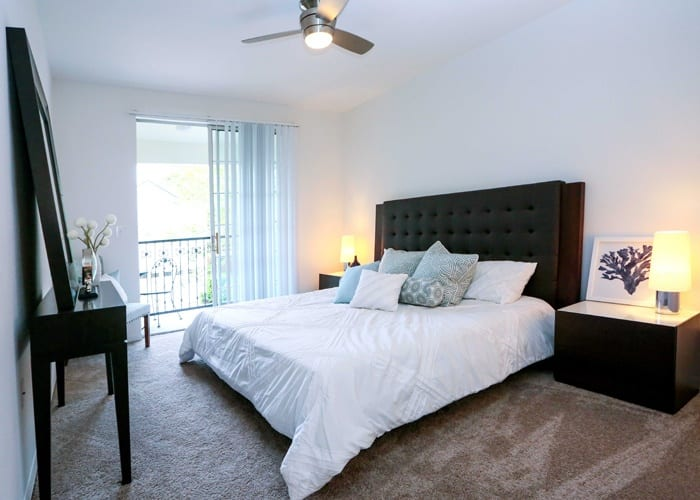 Bedroom room of our spacious homes at Lexington Park at Westchase in Tampa
