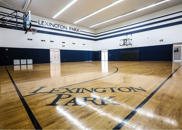 Living at Lexington Park at Westchase includes a full gym!
