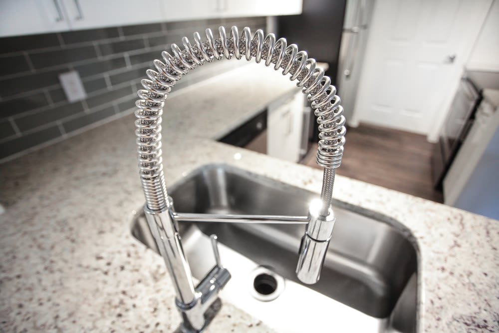 Kitchen Sink at Lexington Park Apartments in Tampa, FL